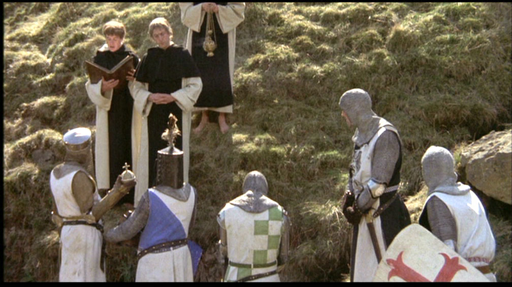 Monty Python and the Holy Grail - thou must count to three